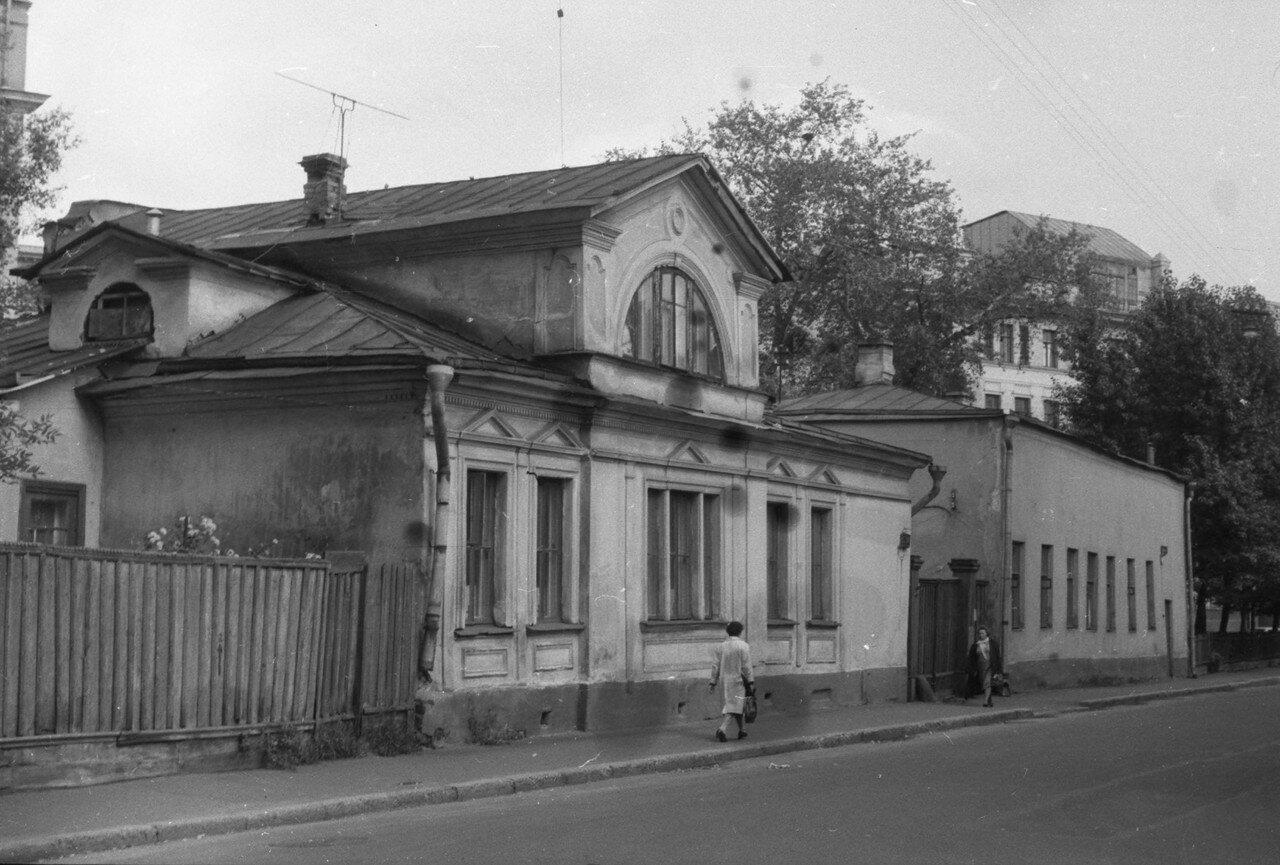 1963. Слияние Б.Молчановки с М.Молчановкой