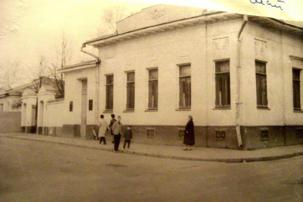 1964. Постпредство Казахской ССР на Композиторской улице