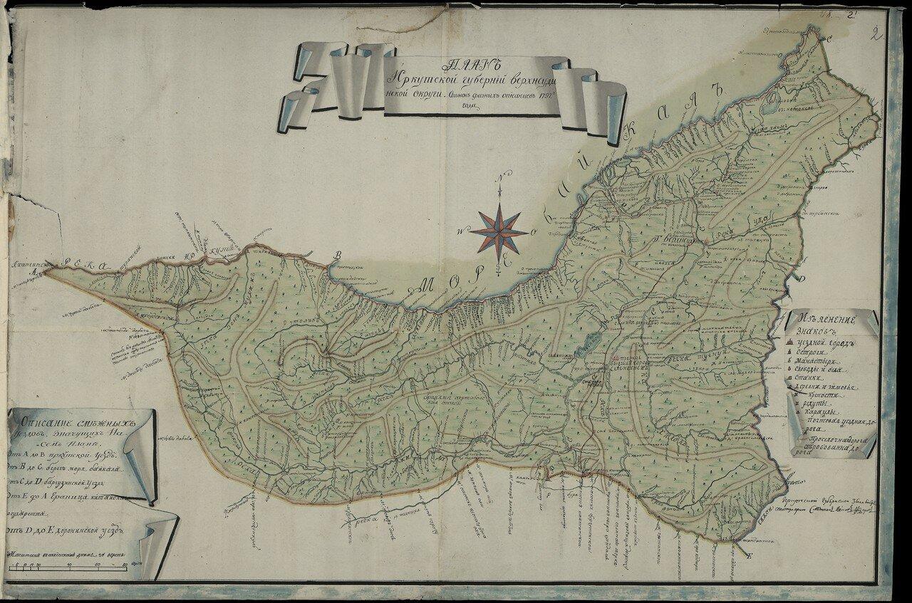 Верхнеудинская округа (уезд) 1797. 20 верст