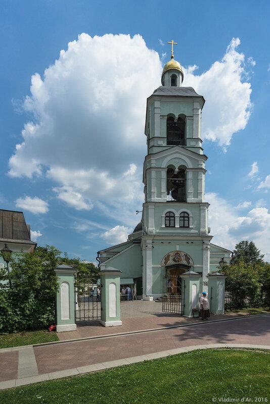 Церковь иконы Божией Матери Живоносный источник в Царицыно