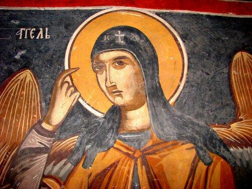 Явление Ангела Господня в схиме Святому Преподобному Пахомию Великому.
