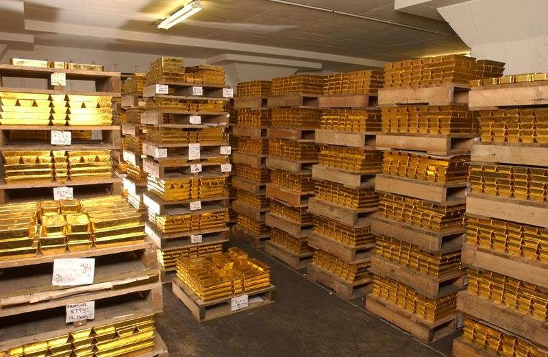 Куда исчезло золото России?
