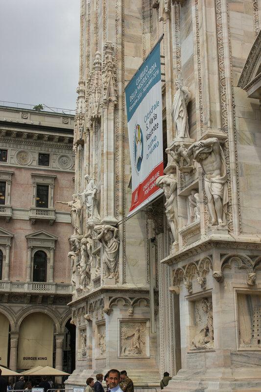 Здание храма Duomo di Milano