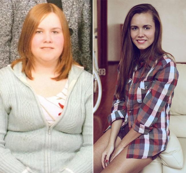 Когда Татьяне Рыбаковой было 14лет, она весила более 100кг, илишний вес был причиной издевательст