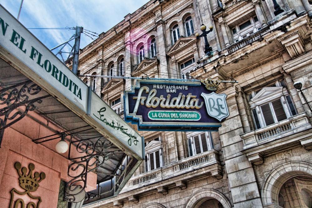 Одно изсамых любимых мест Эрнеста Хемингуэя наКубе— бар «Эль-Флоридита». Здесь онтворил, пил Дай