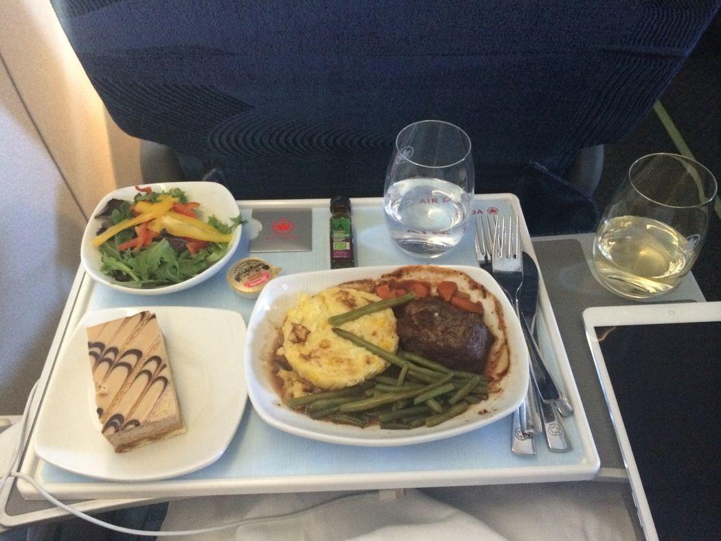 Бизнес-класс. Singapore Airlines
