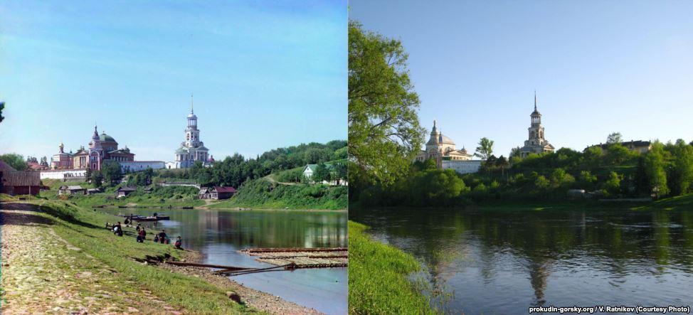 Торжок, 1910/2010. Фото: В. Ратников.
