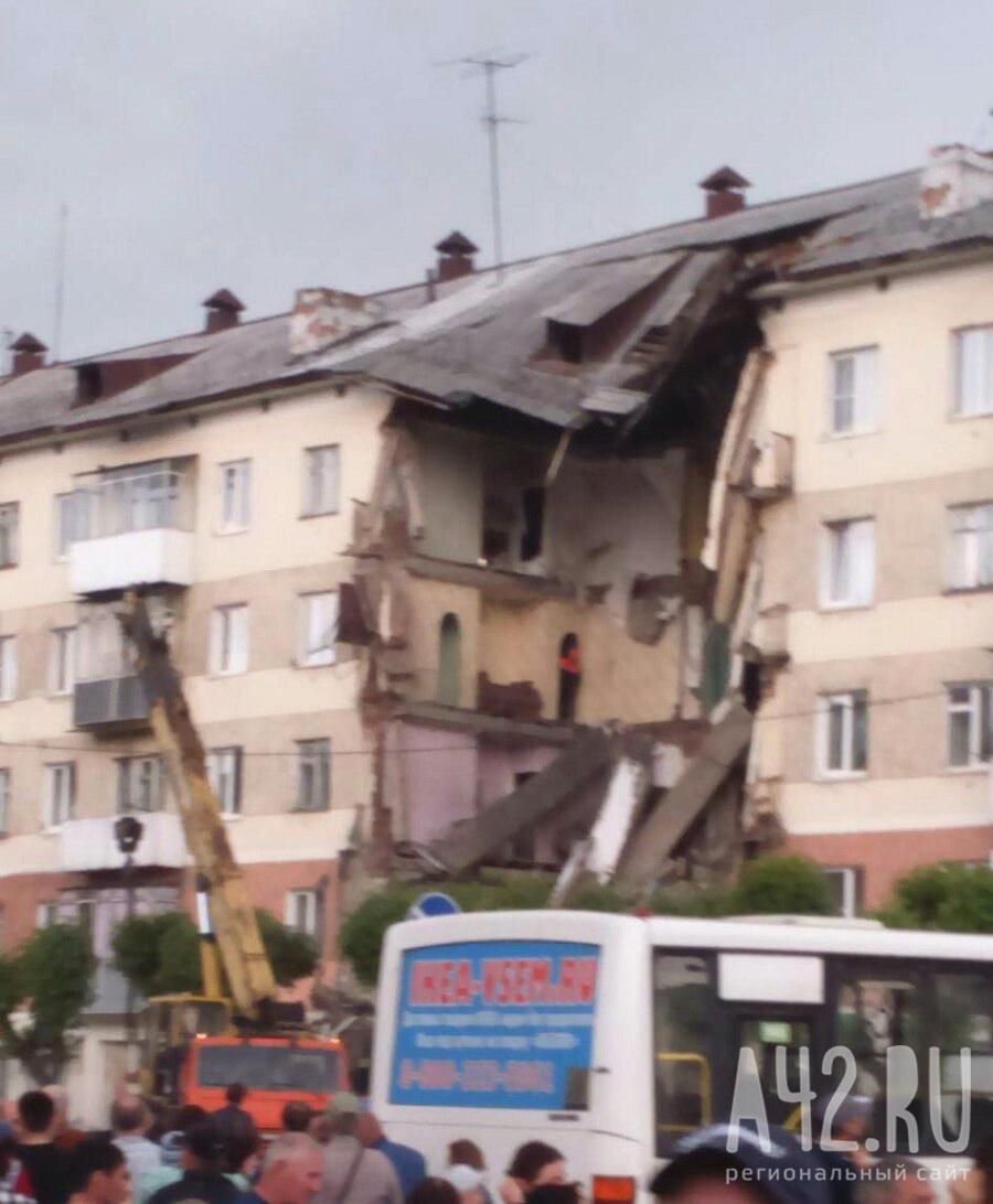Обрушившийся дом вМеждуреченске восстанавливать небудут— Тулеев