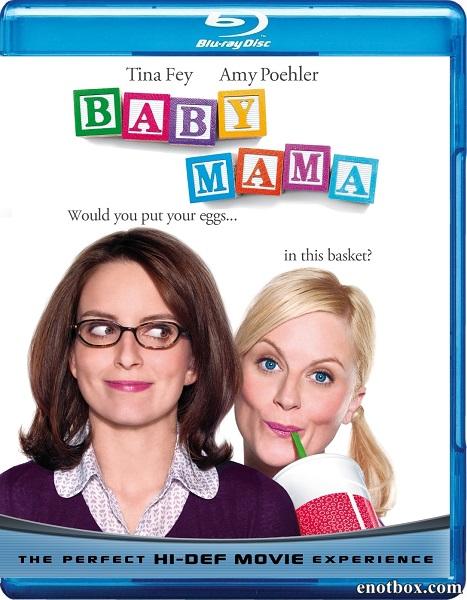 Ой, мамочки / Baby Mama (2008/BDRip/HDRip)