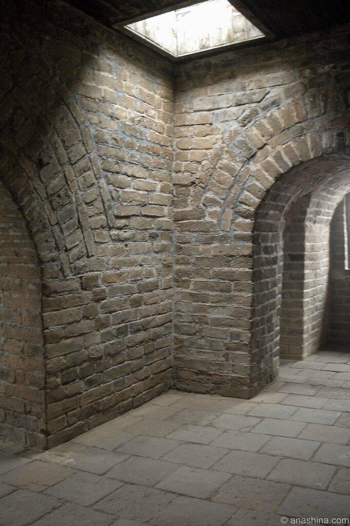 В башне, Мутяньюй, Великая китайская стена