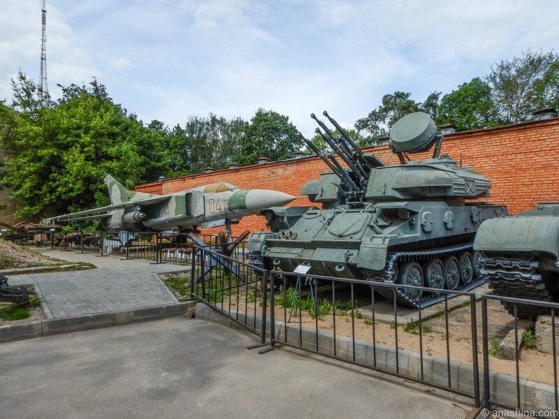 """МиГ-23М и """"Шилка"""", Смоленск"""