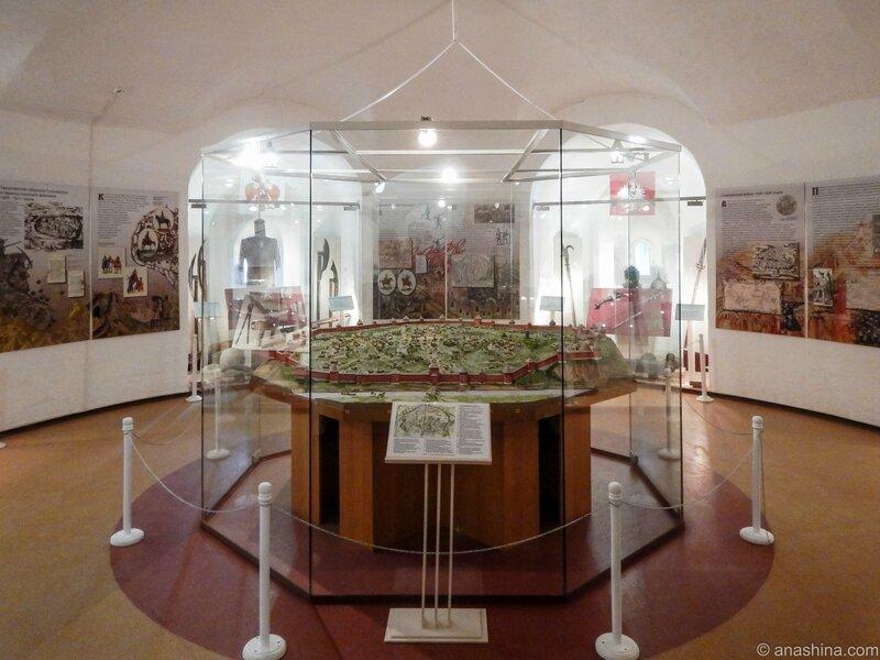 """Экспозиция музея """"Смоленск - щит России"""", Громовая башня, Смоленск"""