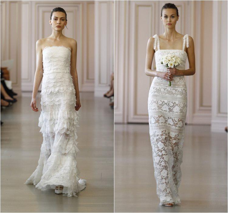 Кружевные свадебные платья 2016 фото 10