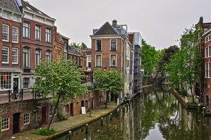 Утрехт. Старый канал Oudegracht