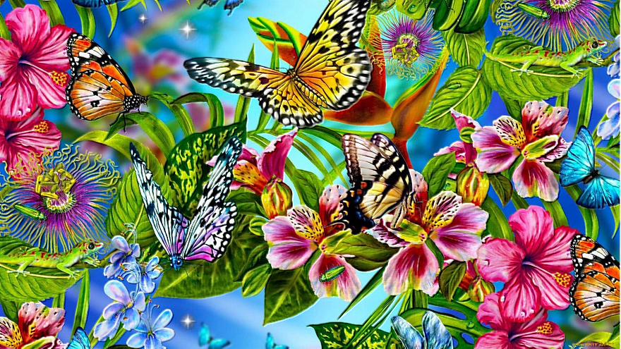 Бабочка проснётся летом