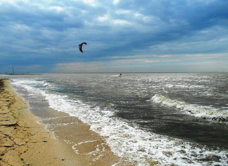 Ветер, брызги, и парашют