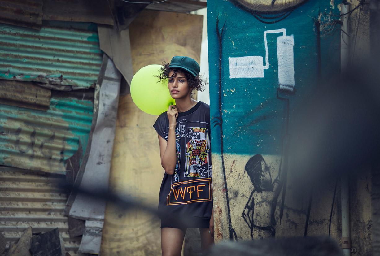 Душа Бомбея / Bombay Soul - Pooja Mor by Sanjyot Telang in Lone Wolf Magazine september 2014