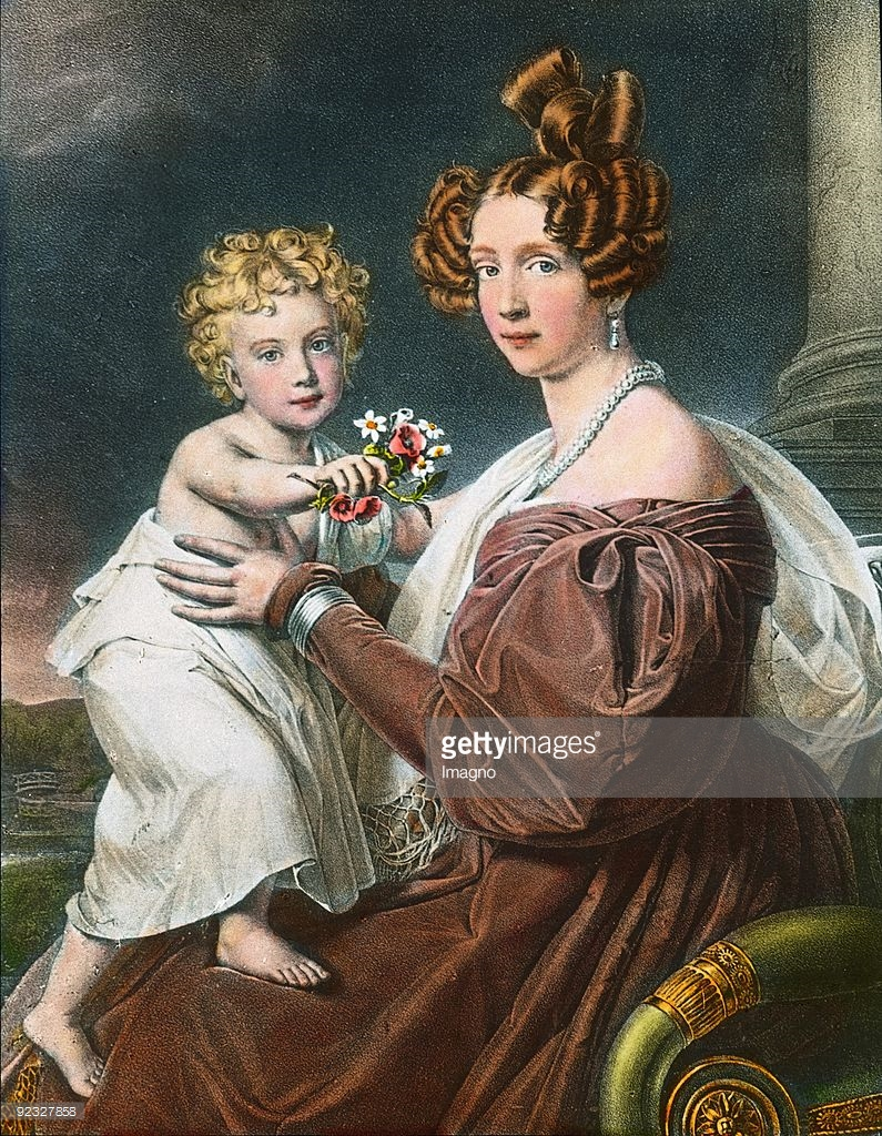 Princess Sophie of Bavaria and her son Franz Joseph.jpg