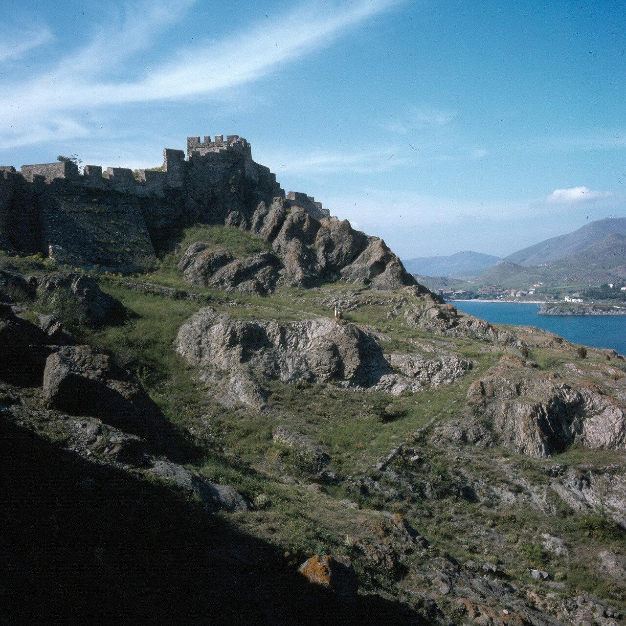 Лемнос. Мирина. Византийская крепость