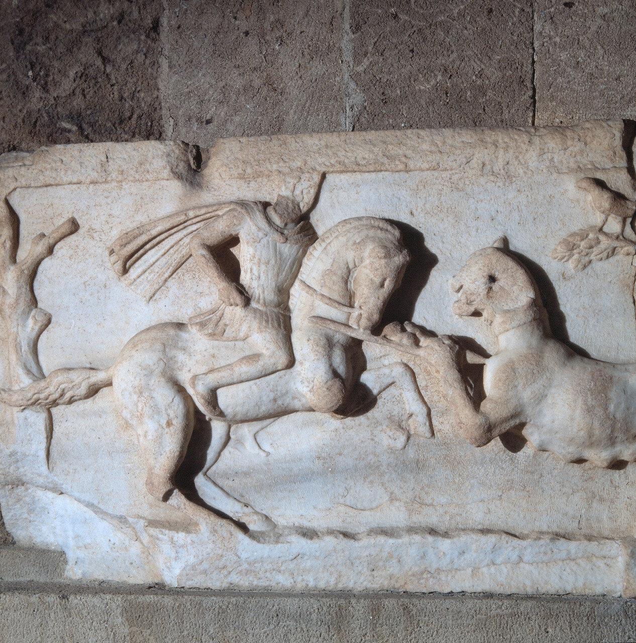 Родос, Археологический музей. Мраморный рельеф