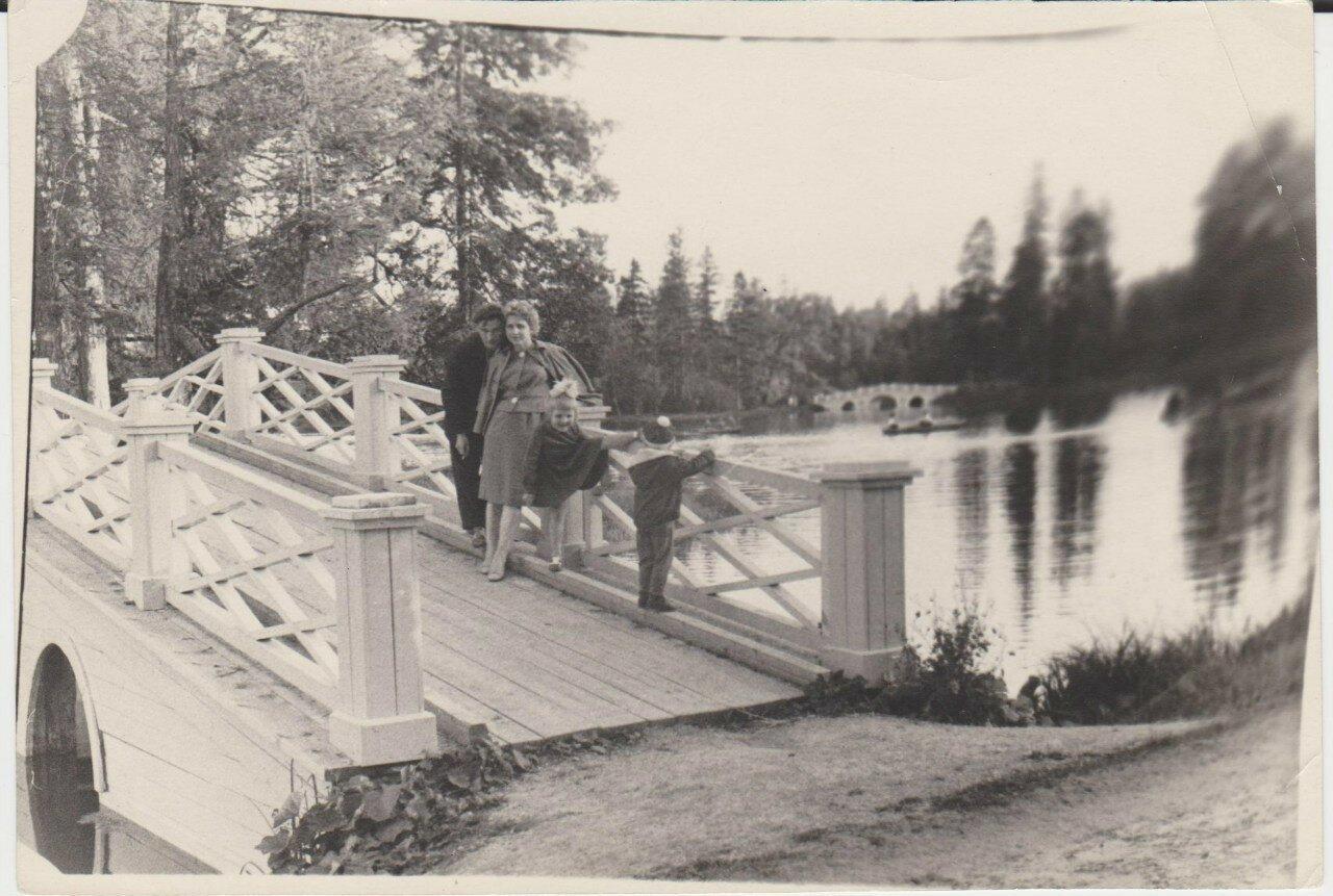 1962. Мост на Пихтовый остров