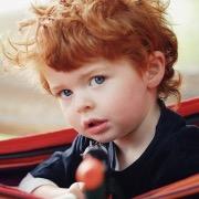 мальчик рыжий