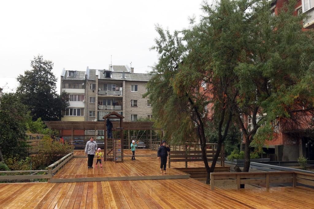 Калужские парк, сад и двор вошли в число лучших российских примеров организации комфортной среды