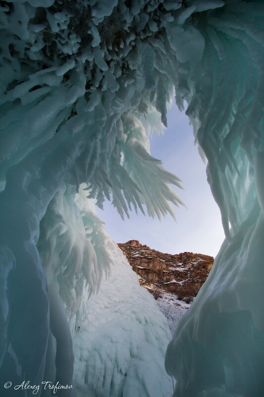 Ледяные кристаллы Байкала