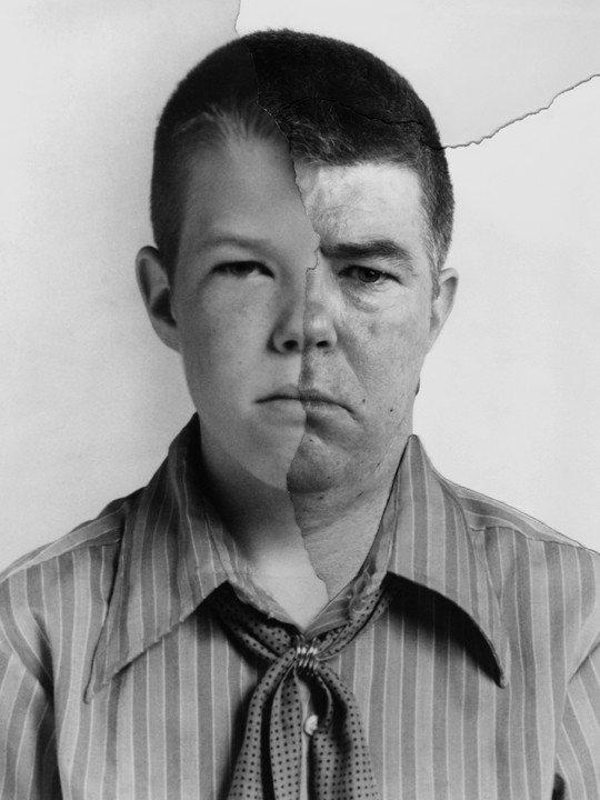 Фотопроект «AgeMaps»: как меняется лицо человека с возрастом