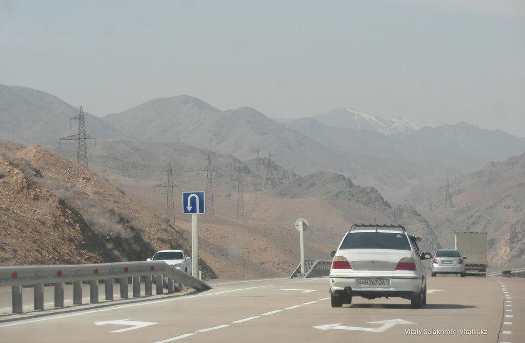 Горы возле перевала Камчик