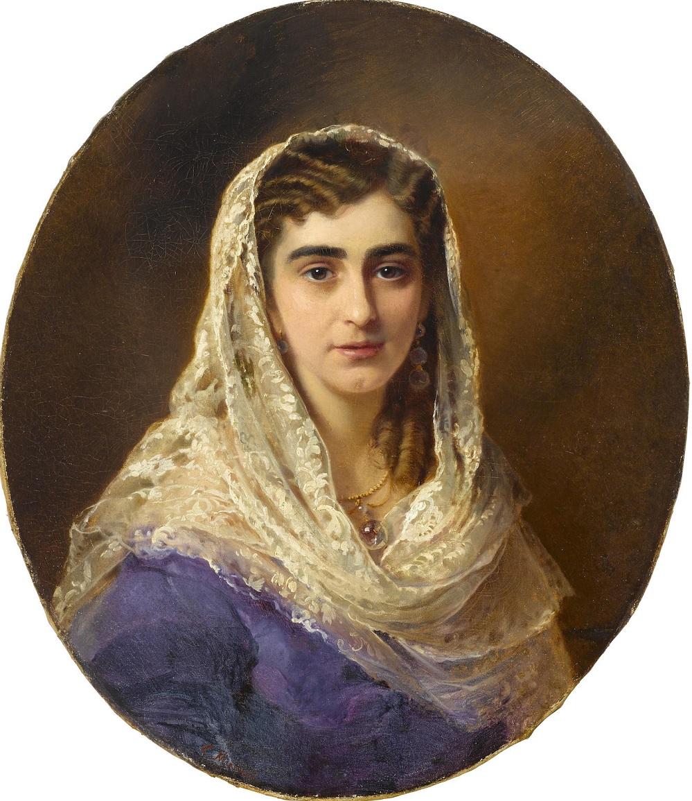 Portrait of Lidia Pashkova.