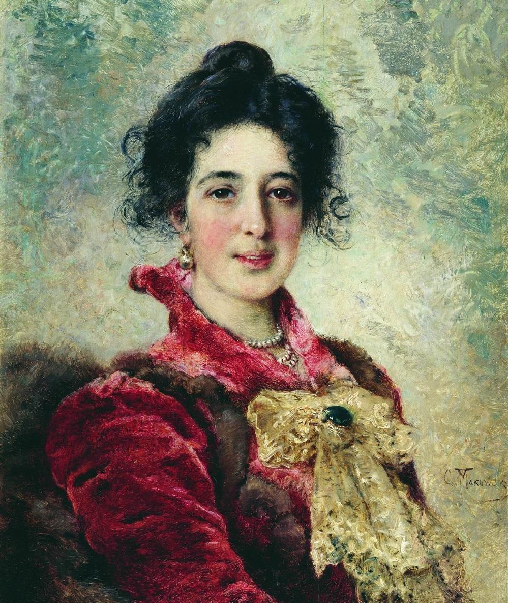 Женский портрет<br />1890-е Кисловодский мемориальный музей-усадьба художника Н.А.Ярошенко.