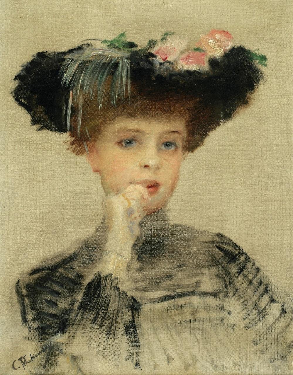 Парижанка 1902 Частное собрание.