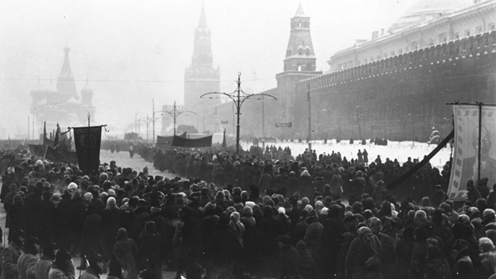 Похороны Ленина на Красной площади