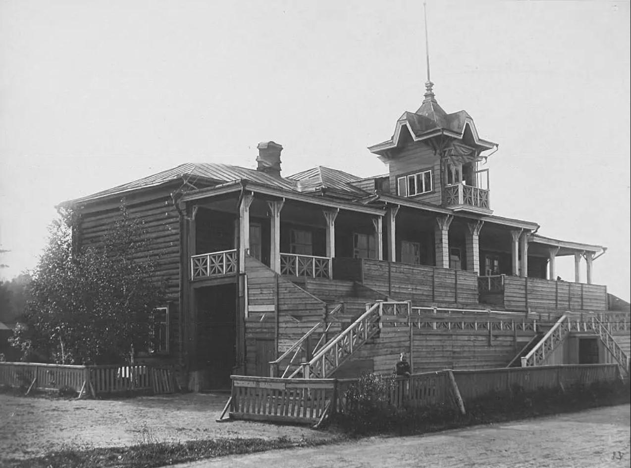 Останкино. Ипподром. 1913