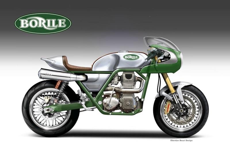 Концепт мотоцикла Borile Mezzolitro