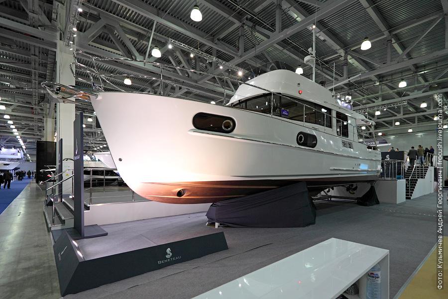 Выставка катеров и яхт Московское Боут Шоу Beneteau Swift Trawler 44