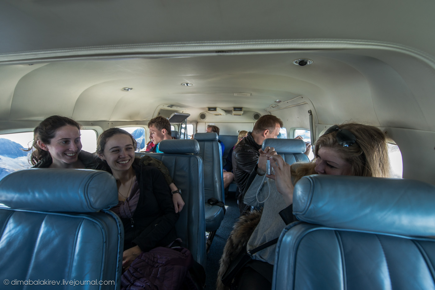 Полёт в Милфорд Саунд, Новая Зеландия