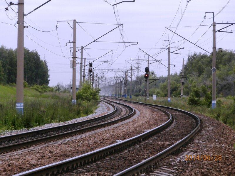 Входные светофоры станции Кунавино