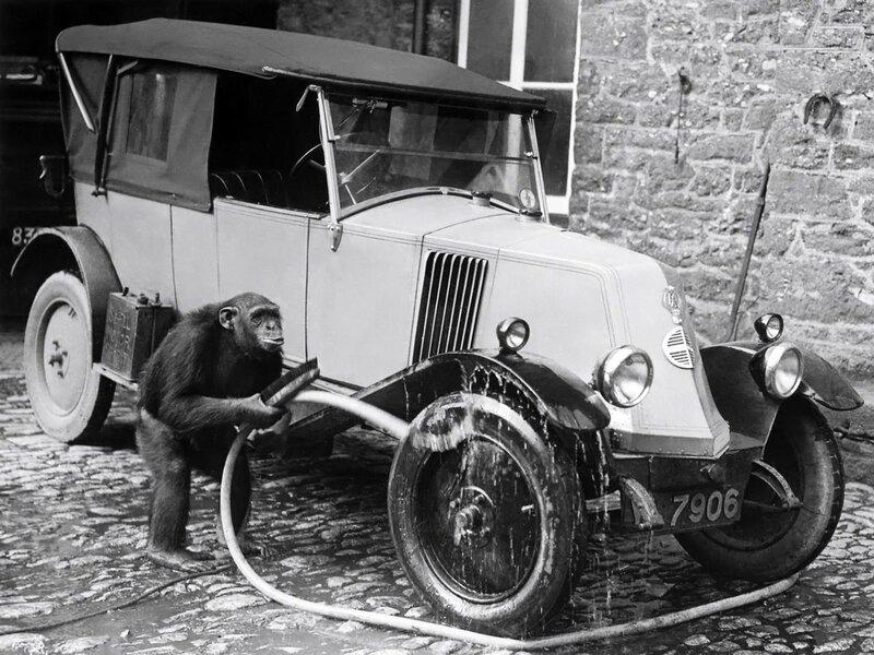 Автомойка. Renault Type KZ '1922–27.