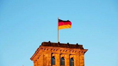 Немецкий флаг в Калининграде