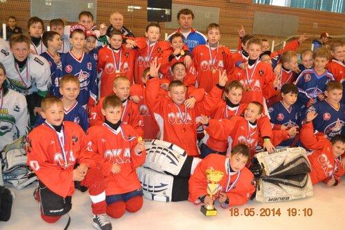 Второй межрегиональный турнир по хоккею с шайбой среди команд 2002-2003 г.р., посвященный Дню Победы, 2014