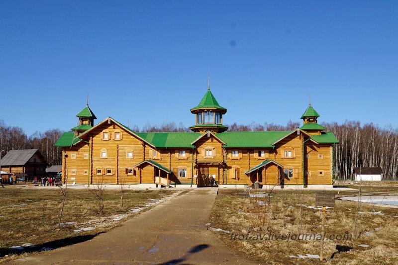 Гостиница Русское подворье, Этномир, Калужская обл.