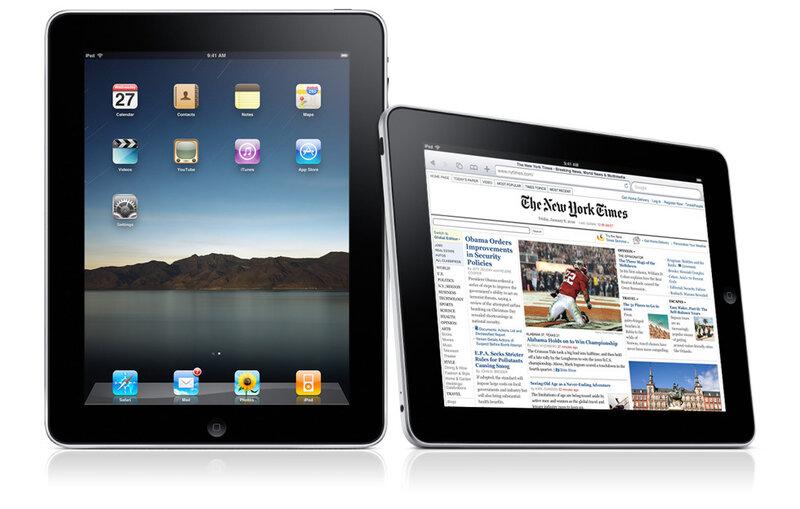 iPad - это планшетный компьютер