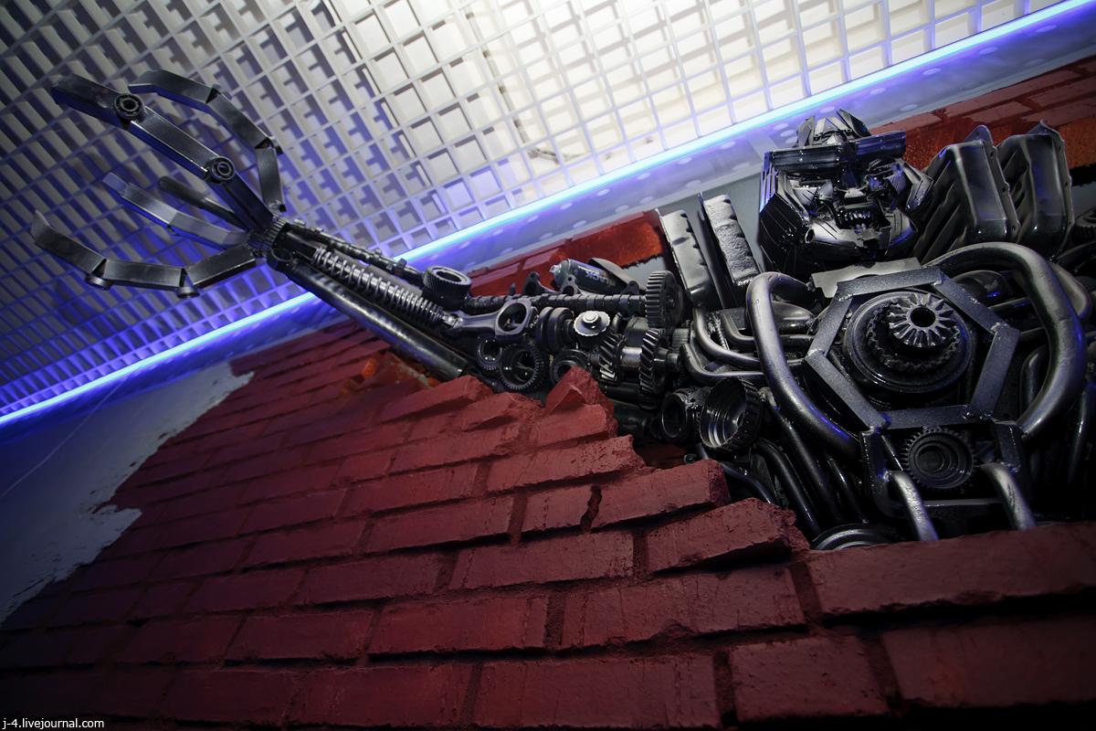 музей восстания машин, музей роботов, Парголово, фото, фотографии