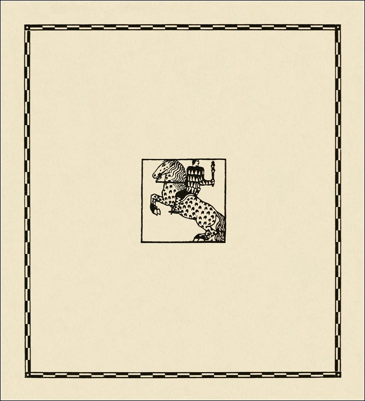 Carl Otto Czeschka, Die Nibelungen
