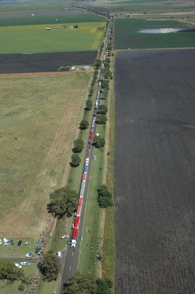 Репутацию обители шоссейных гигантов в Австралии заслужил округ Северная Территория. Жизнь здесь пра