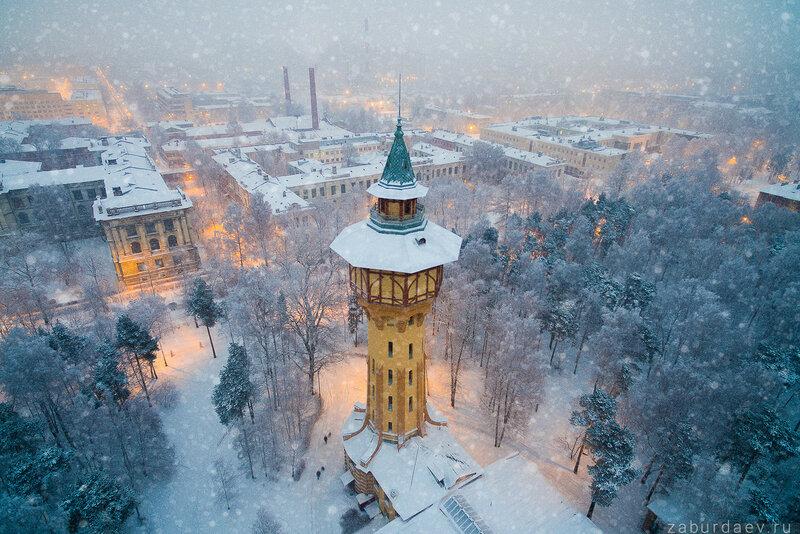 Водонапорная башня Политехнического университета
