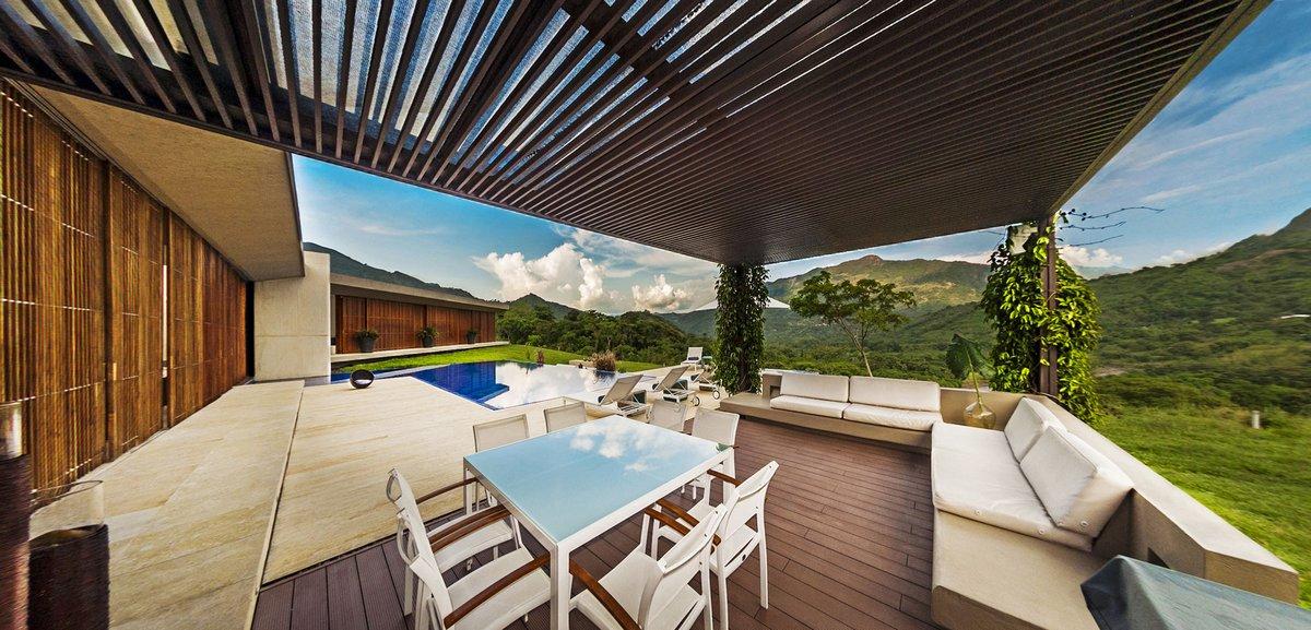 Arquitectura en Estudio, Ла Виолета, департамент Кундинамарка, дома в Колумбии, особняк с бассейном, открытая планировка дома, проект открытого дома