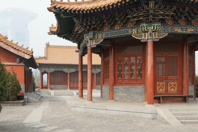 Парк маньчжуров, Пекин, Парк национальностей